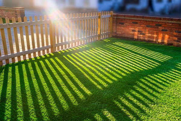 Synthetic Lawn Installation